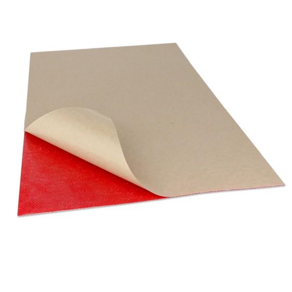 Klett selbstklebend DIN-A4 in rot